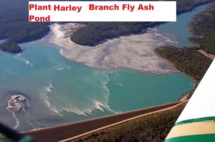 Lake Sinclair Power Plant Fly Ash Pond