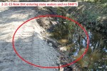 2266---2-11-15 New Dirt in state waters and no BMP'S