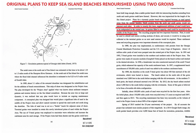 Sea Island Beach Renourishment Plan(s)AAAA