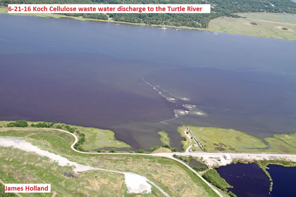 9256---6-21-16 Koch Cellulose waste water discharge to Turtle River