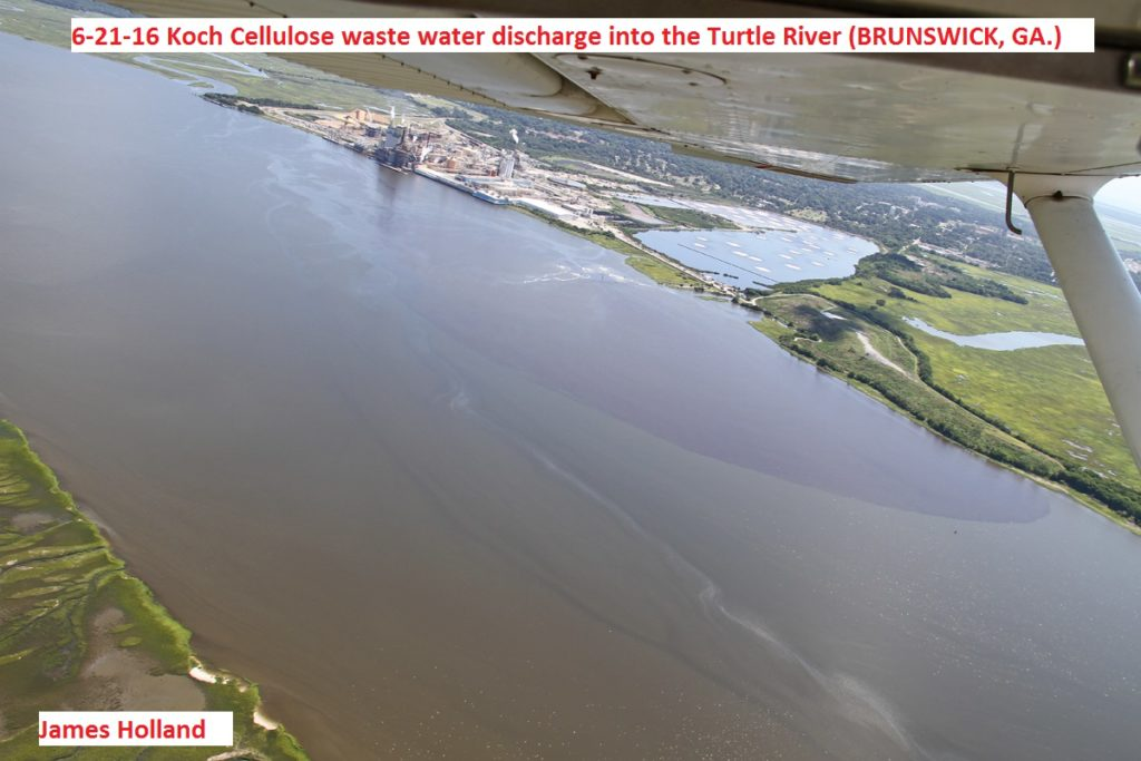 9290---6-21-16 Koch Cellulose waste water discharge to Turtle River