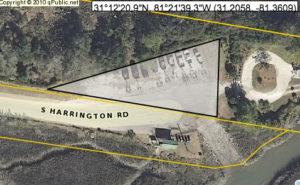 Disputed quarter acre off S. Harrington