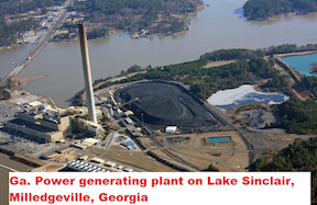 Power Plant On Lake Sinclair(2A)