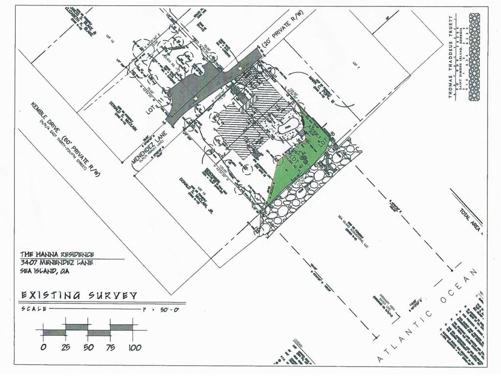 3407 Menendez Site Survey