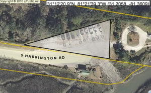 Disputed quarter acre off S. Harrington