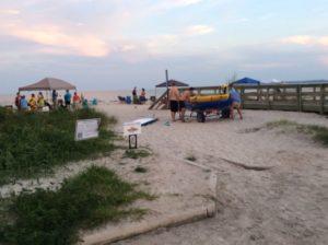 Saint Simons Myrtle Beach at sunset